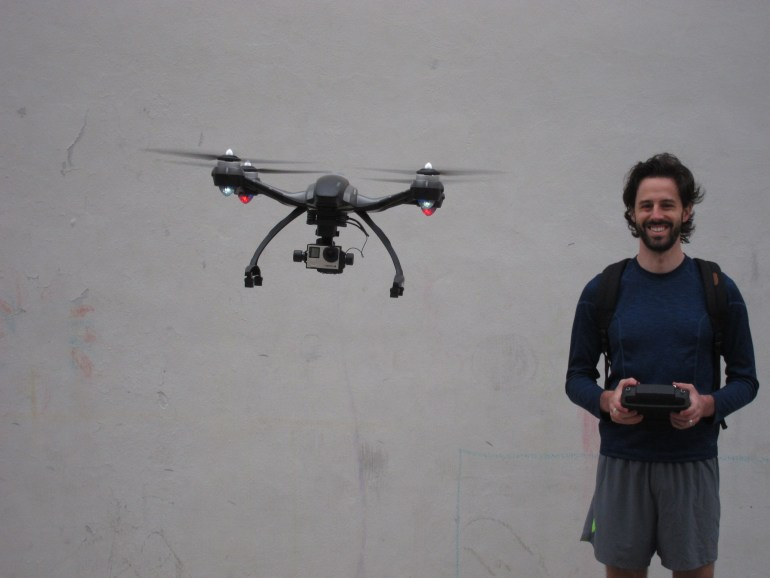 Alan Perlman drones interview. Drones for spearfishing and adventure videography