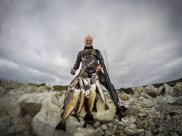 the Hobbit! Scotland Spearfishing with Grant Laidlaw