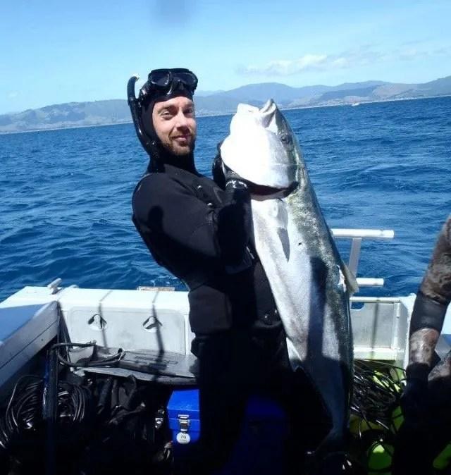 Sebasitan Kramer Spearfishing Guide. A Noob Spearo Podcast Interview