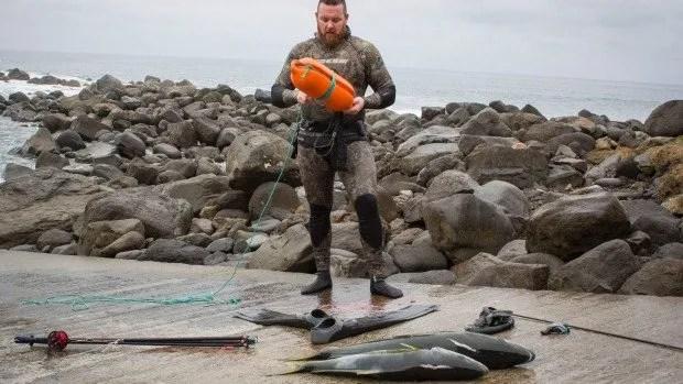 Taranaki Spearfishing Isaac Daly