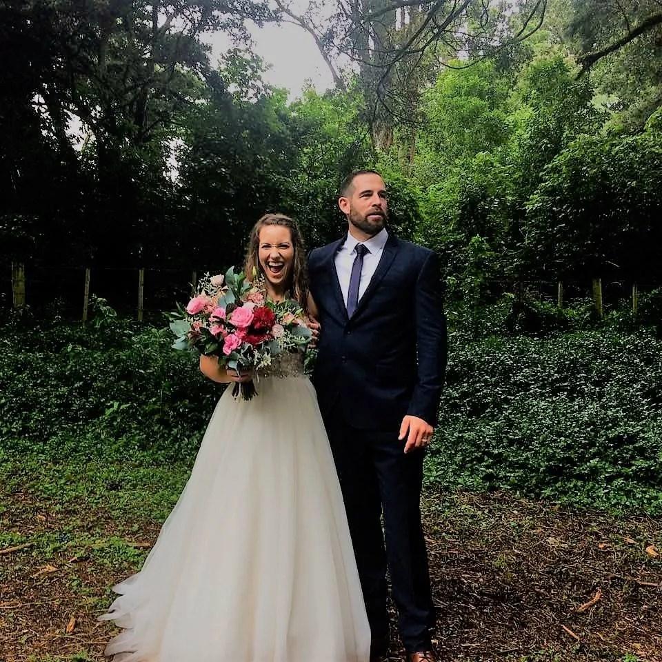 Nicola and Joash Daly wedding