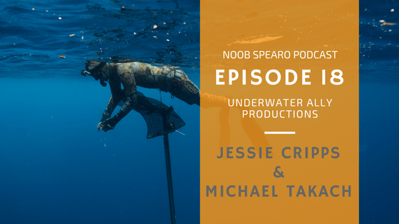 NSP:018 Jessie Cripps and Michael Takach, Underwater Ally Productions & Riffe Team Divers