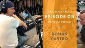 Roman Castro spearfishing