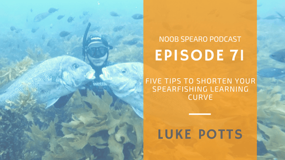 NSP:071 5 Spearfishing Tips to Shorten your Learning Curve