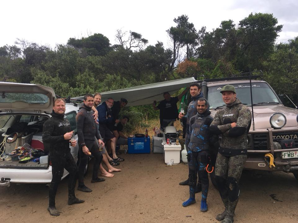 First Year Spearfishing | Sven Franklin Club Spearfish Melbourne