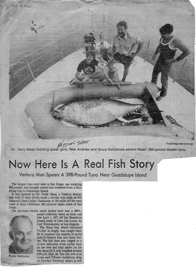 Terry Maas Tuna article