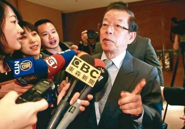 駐日代表謝長廷。聯合報系資料照/記者黃義書攝影