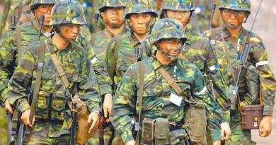 國防部長嚴德發昨天表示,國軍後備單位將成立「防衛動員署」,計畫2022年實施教召新制,圖為後備軍人整裝準備演訓。(本報資料照片)