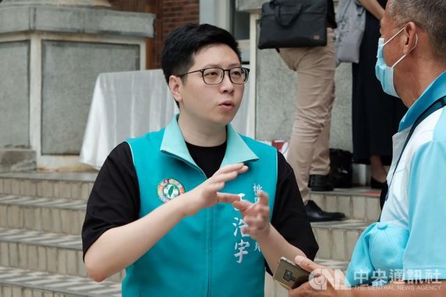 桃園市議員王浩宇(中央社/資料照片)