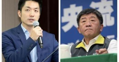 國民黨立委蔣萬安(左)、衛福部長陳時中(右)。(圖/本報系資料照)