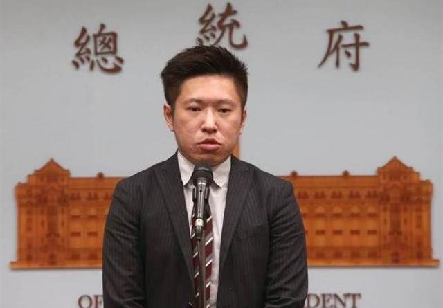 總統府發言人張惇涵昨(20)日在臉書上分享一日行程,稱其為「817萬人的期待」,這句話引爆網友不滿。(本報系資料照片)