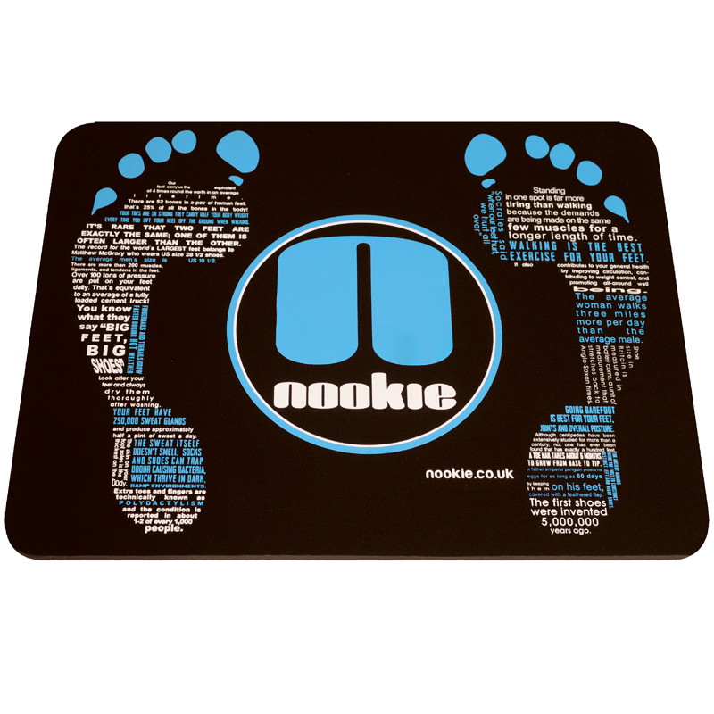 Nookie 8mm Neoprene Footmat Changing Mat