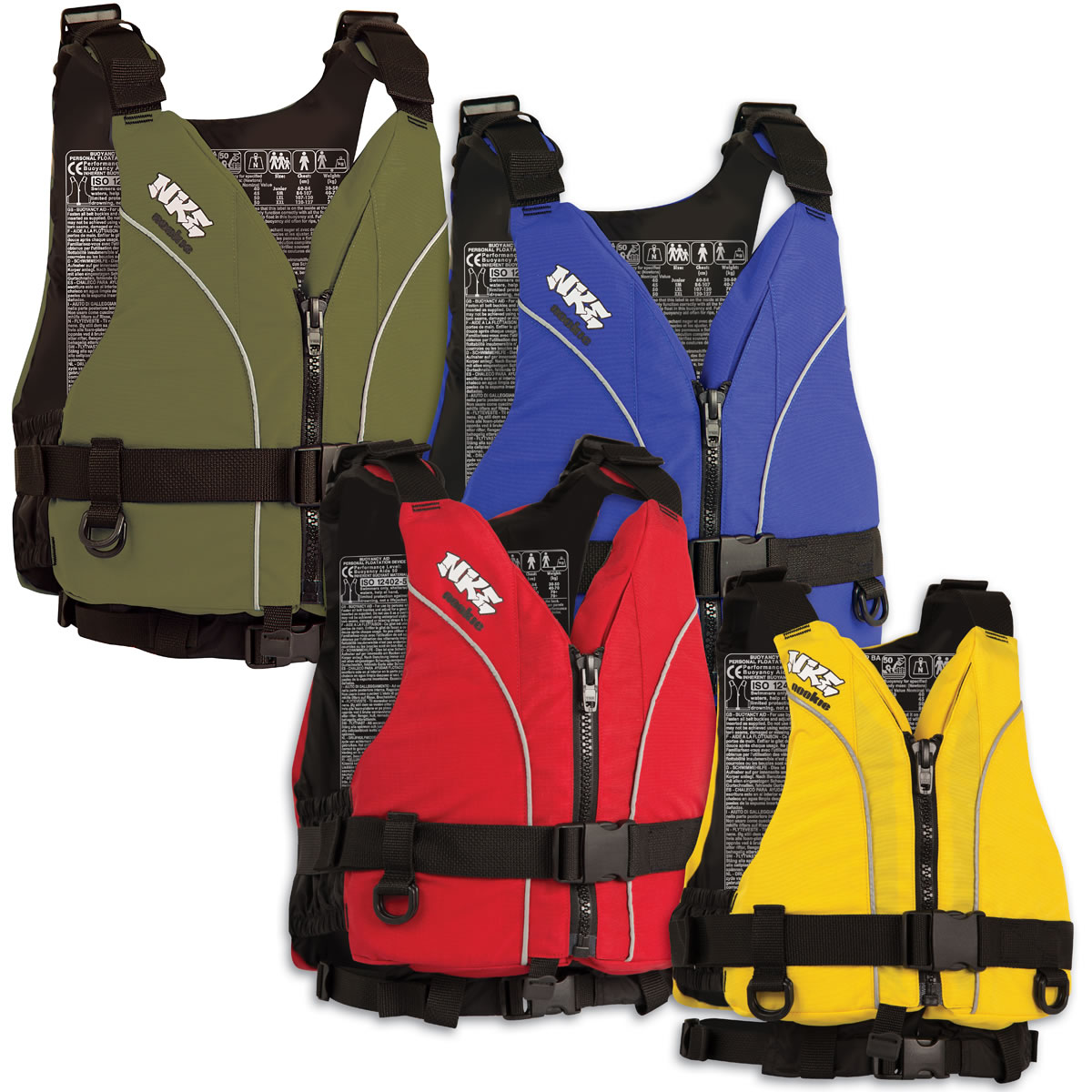 NKE Centre Zip Buoyancy Aids
