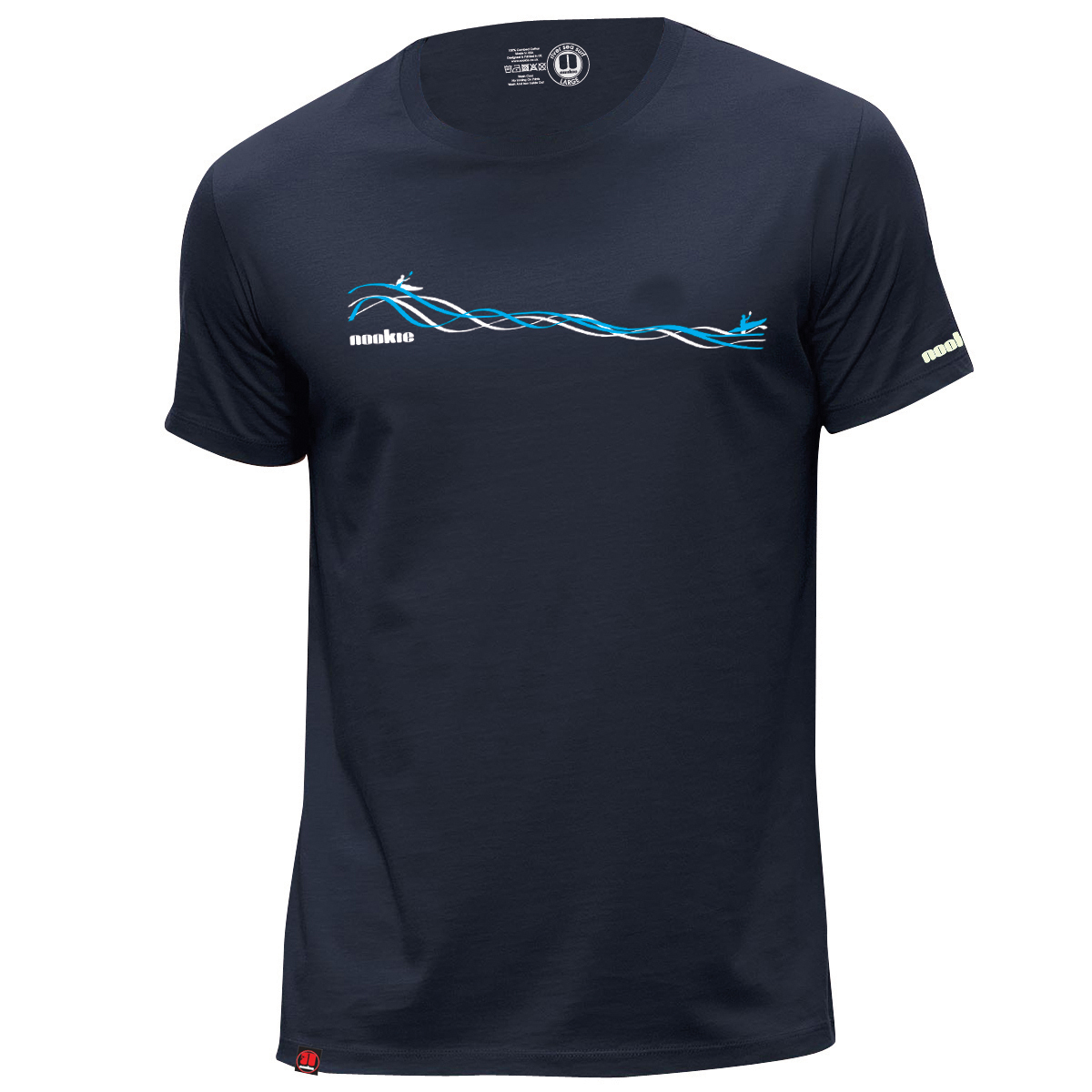 T-Shirt Navy Blue Nookie Rapid Design