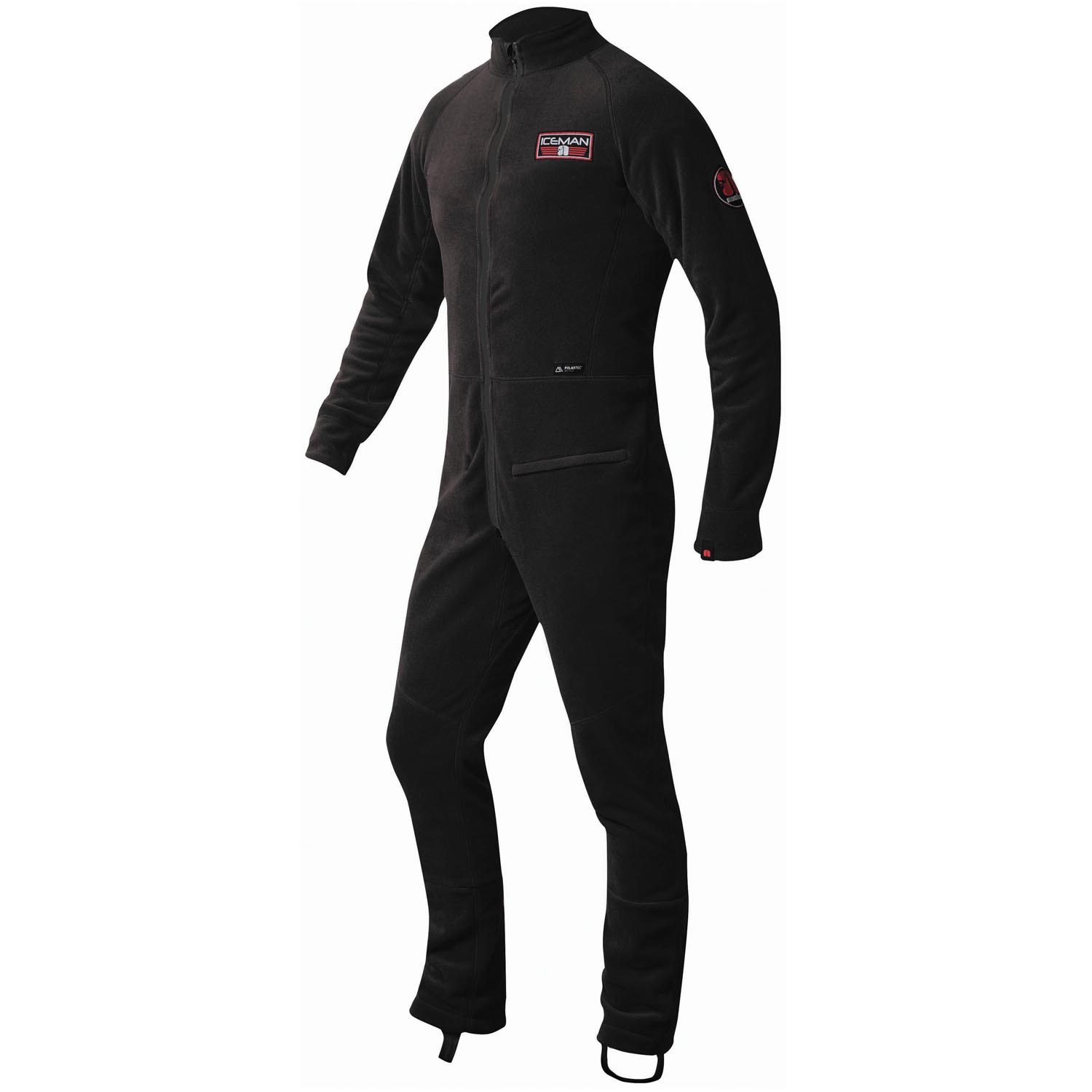 Nookie Iceman All-In-One Thermal Suit - Black Ice