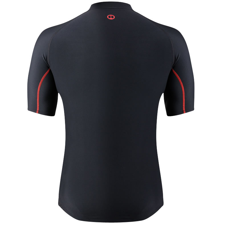 Nookie Core Hybrid Thermal Base Layer Short Sleeve Back