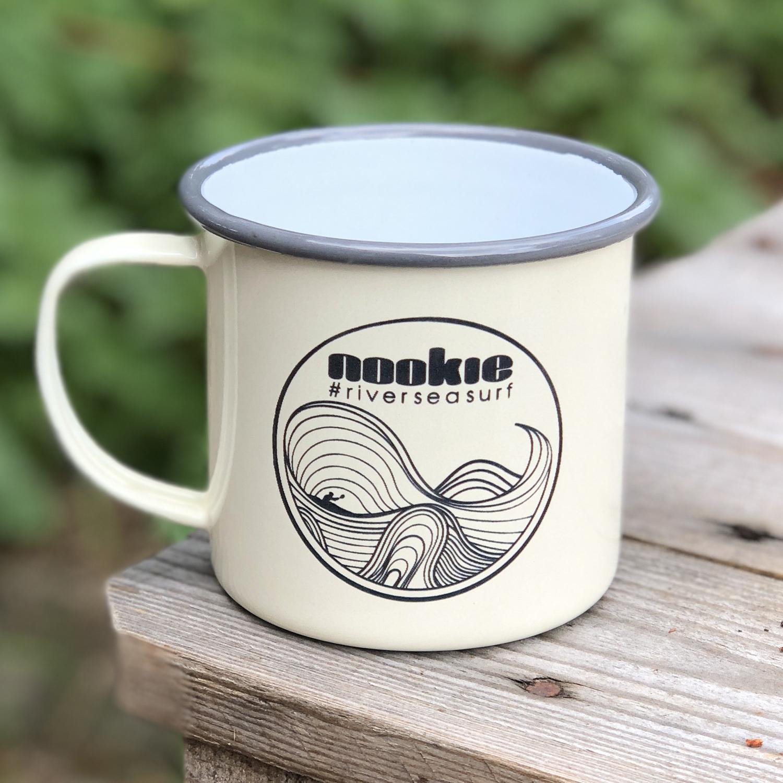 Nookie Enamel Mug