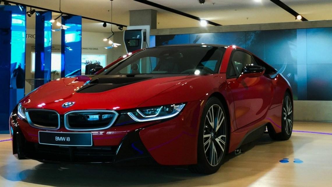 2018 BMW i8 price