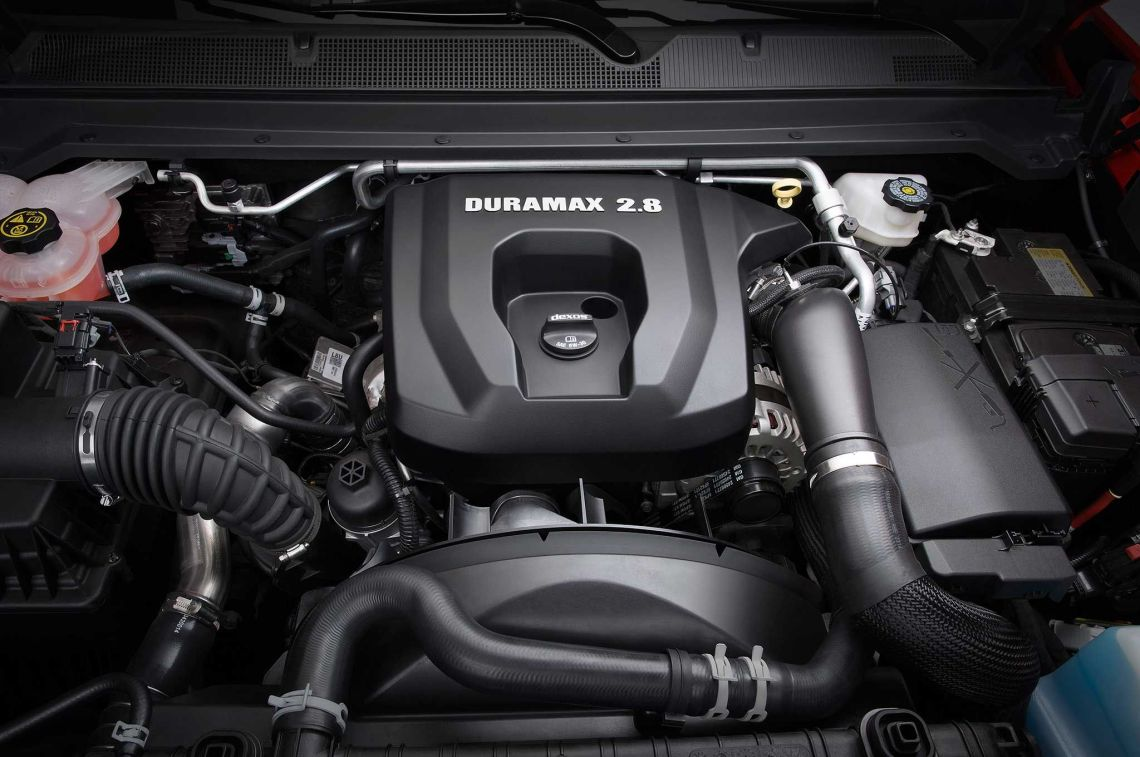 2018 Chevrolet Colorado engine