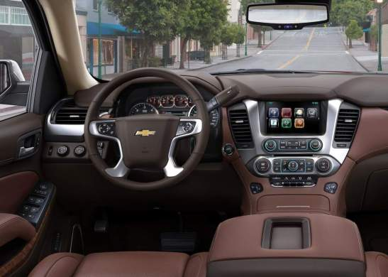 2018 Chevrolet Tahoe technology
