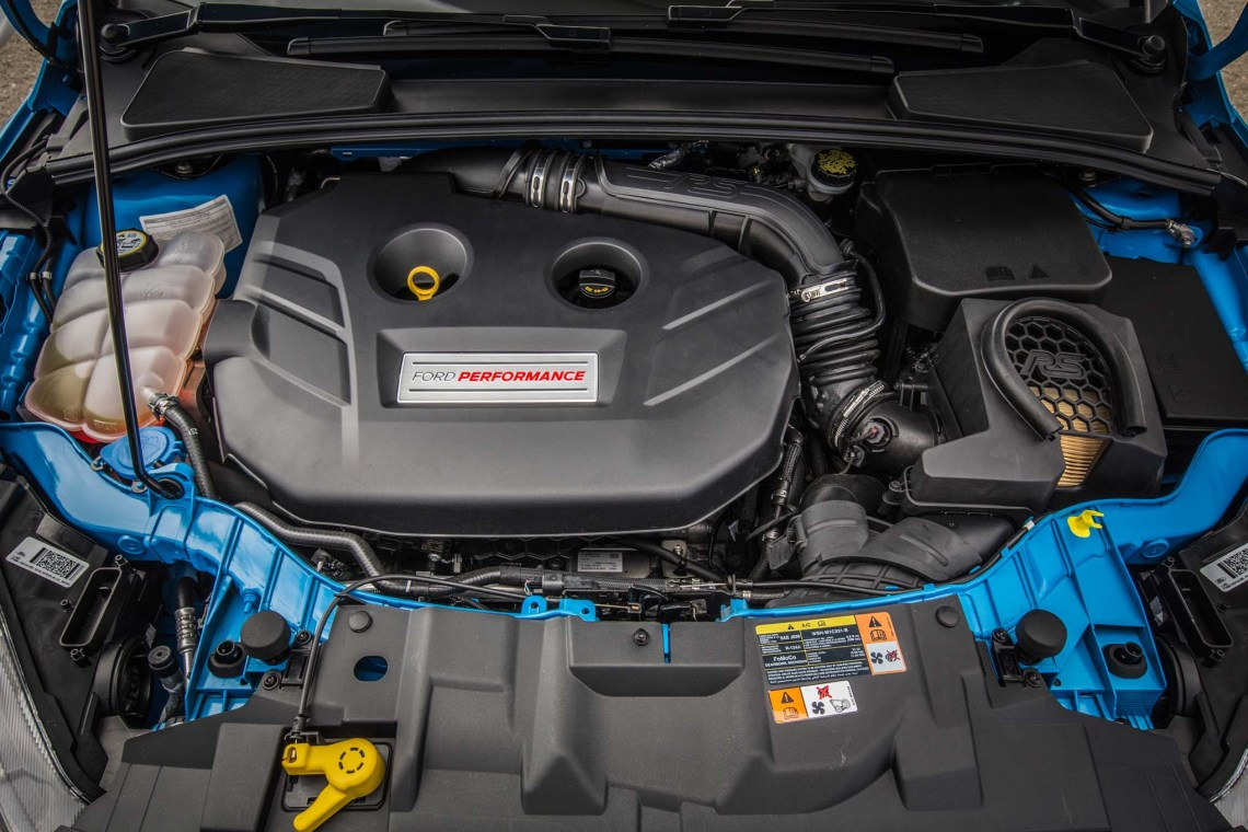 2018 Ford Focus engine