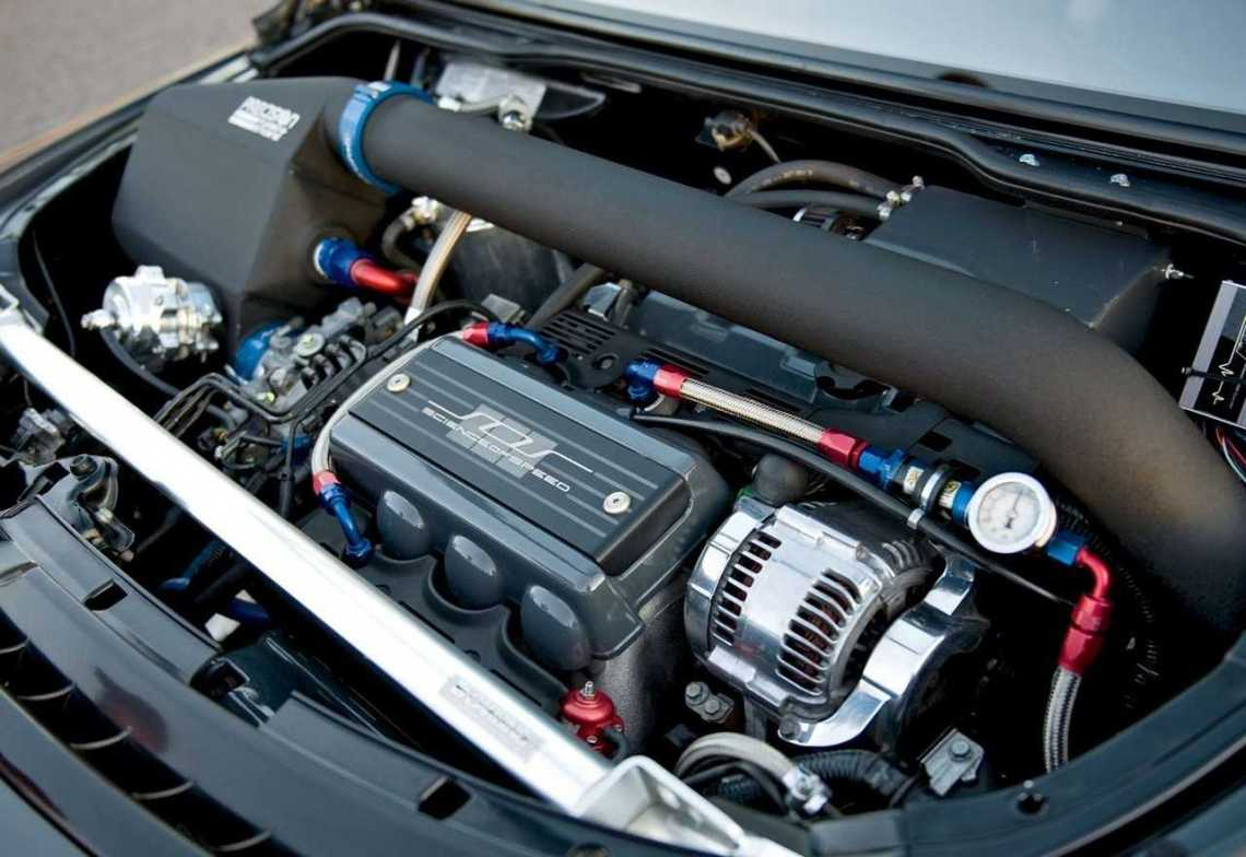 2018 Honda NSX engine