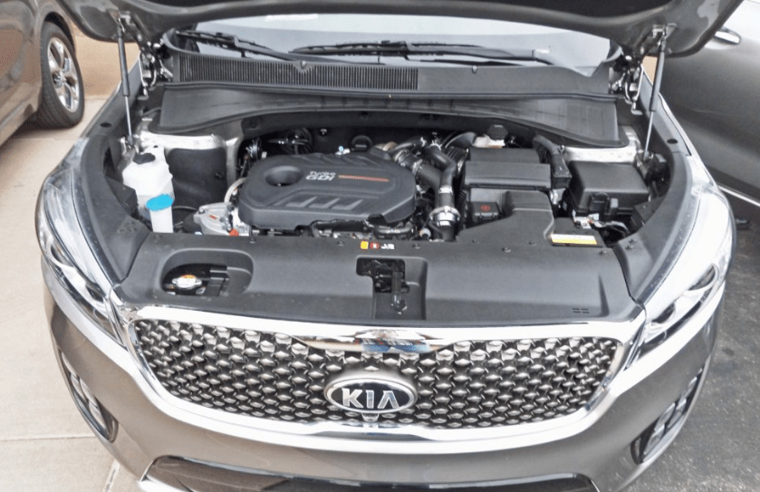 2018 Kia Sorento Engine
