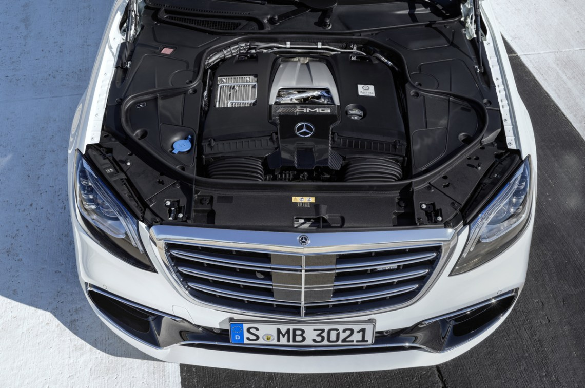 2018 Mercedes-Benz S-Class Coupe engine