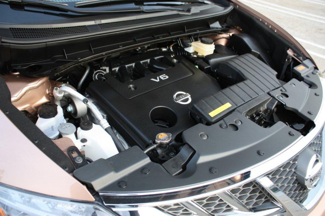 2018 Nissan Murano engine