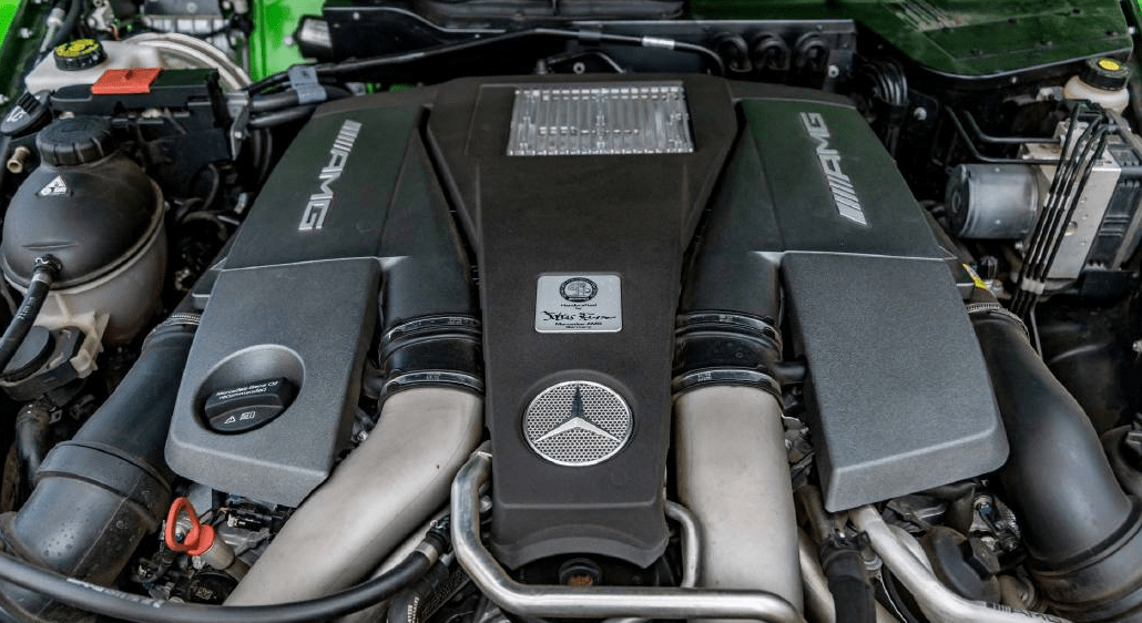 2018 Mercedes Benz G Engine