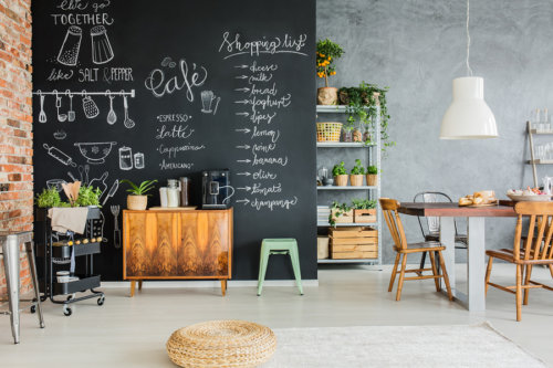 kitchen blackboard island table ikea best chalkboard decor and ideas for your no ordinary homestead here are just a few of the that you can bring to life when playing around with