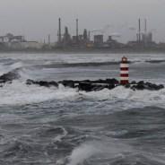Brand op Noordpier blijkt vuur bij hoogovens Wijk aan Zee