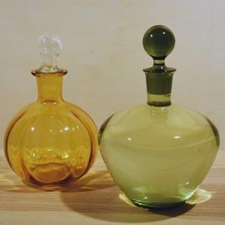 glaswerk geel en groen