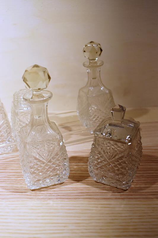 glas keuken set