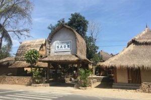 Desa Sade di Lombok Nampak Dari Depan