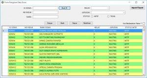 Form Data Siswa