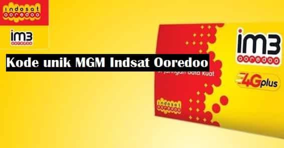Kumpulan Kode Unik MGM