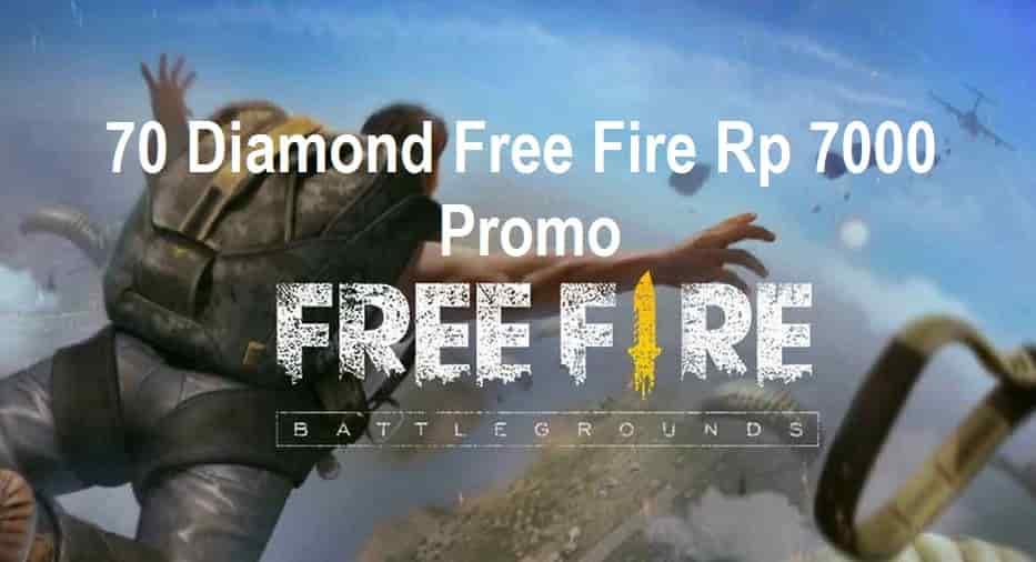 70 Diamond Free Fire 7000