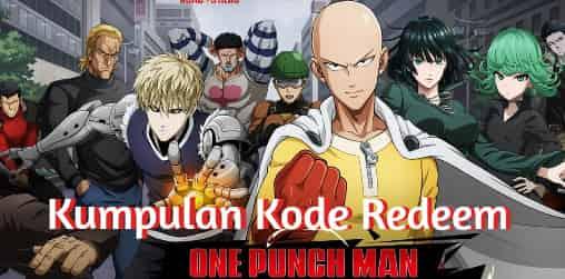 Kode Redeem One Punch Man