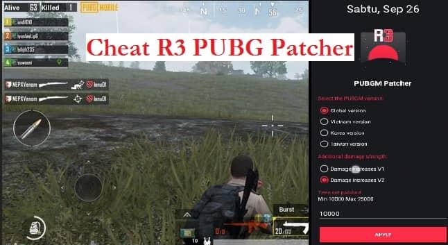 R3 PUBG Patcher Apk