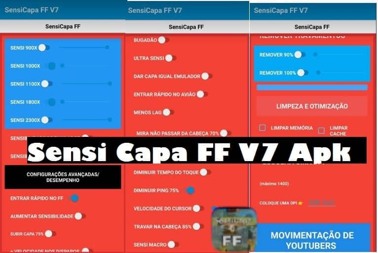 Sensi Capa FF V7 Apk