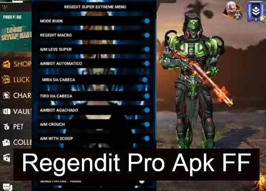 Regedit FF Pro Apk