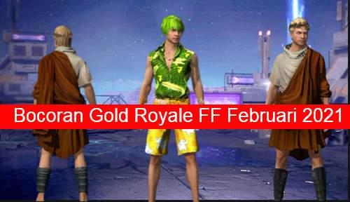 Bocoran Gold Royale FF
