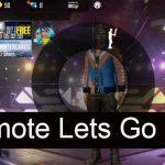Emote Lets Go FF