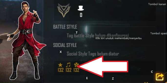 Kode Bio FF Badge