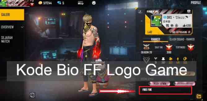Kode Bio FF Logo Game