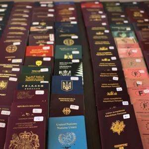 Passport scams Identity theft