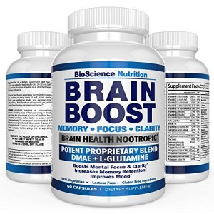Brain-Boost-Nootropics-for-Memory-Focus-Clarity-Concentration-Mood-Alertness-Sharp-Mind-Cognitive-Function-Enhancement-41-Vitamins-DMAE-Herbal-Nootropic-Supplement-BioScience-Nutrition-USA-0