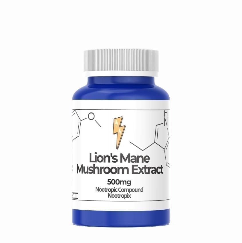 lion mane mushroom 500mg capsules nootropics uae