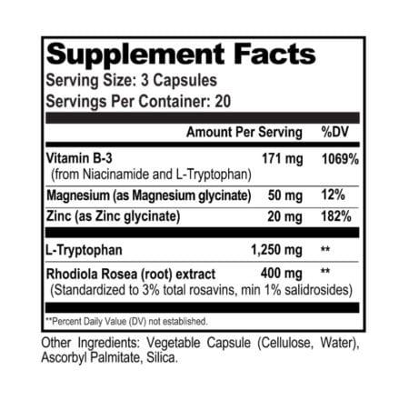 serotonin brain food supplement facts natural stacks nootropics dubai uae
